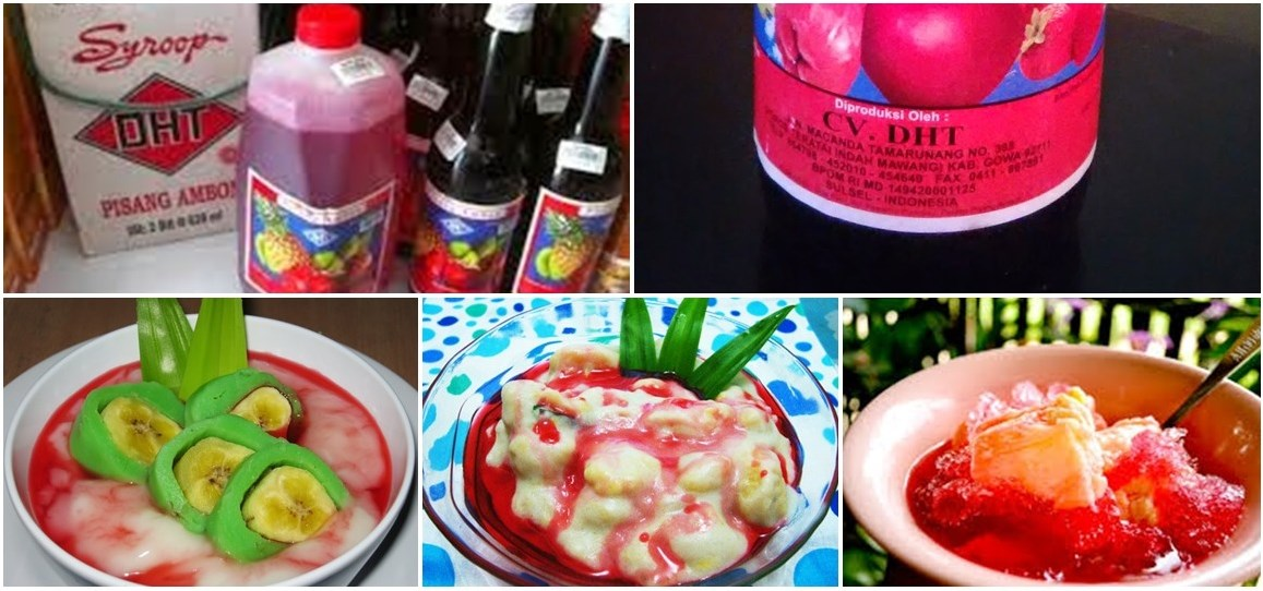 Sirup DHT Pisang Ambon Asli dari Makassar